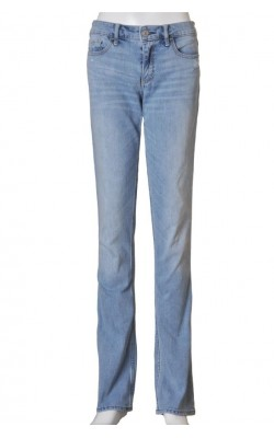 Blugi tapered Abercrombie&Fitch, croi drept, marime 38