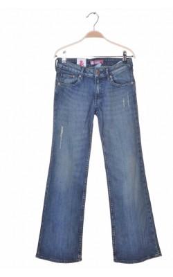 Blugi tapered H&M fit&flary, 11-12 ani