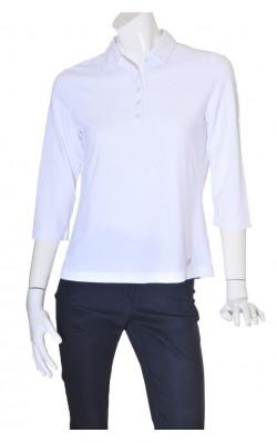Bluza alba polo Brax Golf, marime L