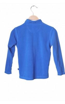 Bluza albastra fleece Stormberg, 5 ani