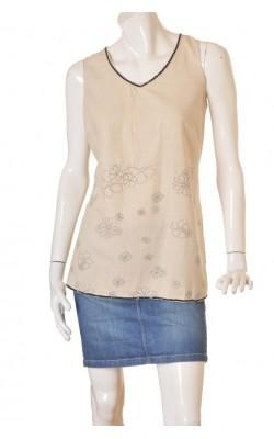 Bluza amestec in Zhenzi, guler paiete, marime 48