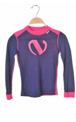Bluza amestec lana merinos Swix, 8 ani