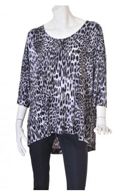 Bluza animal print Cynthia Rowley, marime XXL