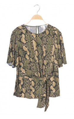 Bluza animal print H&M, marime 36
