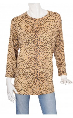 Bluza animal print Jean Marc Philippe, marime XL