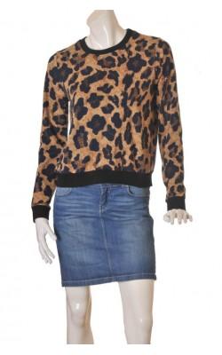 Bluza animal print Just Female, marime M