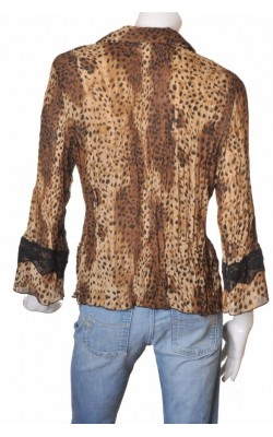 Bluza animal print Kriss Sweden, marime L