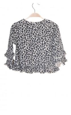 Bluza animal print Lindex, 7-8 ani