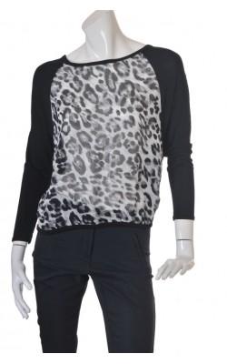 Bluza animal print Sorbet, marime 38