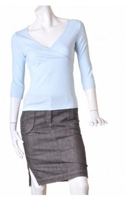 Bluza bleu fals petrecuta Vero Moda, marime 38