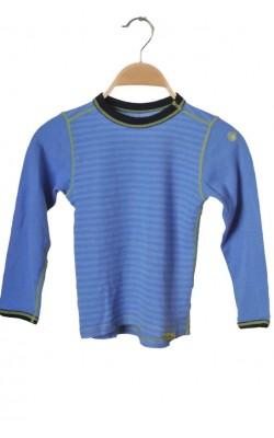 Bluza bleu lana merinos Pierre Robert, 6 ani