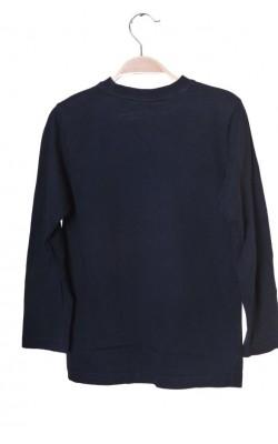 Bluza bleumarin cu imprimeu Jean Paul, 8-9 ani