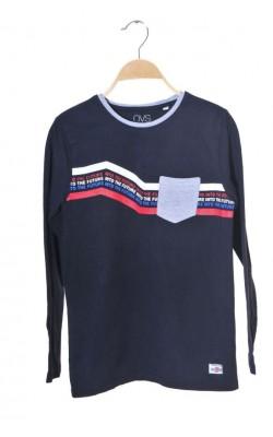 Bluza bleumarin cu imprimeu Oviesse, 12-13 ani