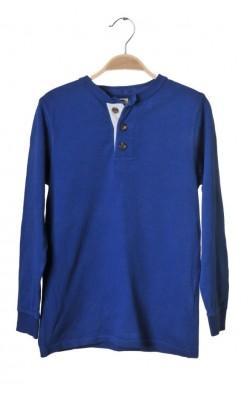 Bluza bumbac albastru Cubus, 9-10 ani