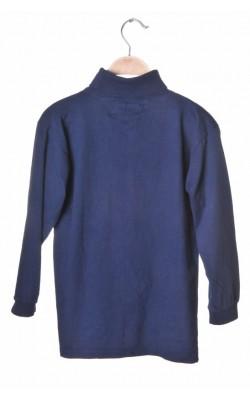 Bluza bumbac bleumarin Max Sport, 8-10 ani