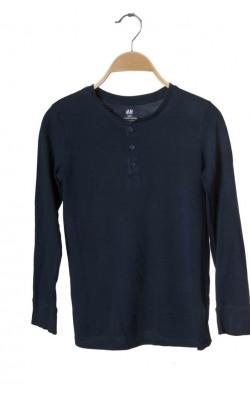 Bluza bumbac organic H&M, 9-10 ani
