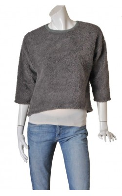 Bluza calduroasa polar Glamorous, model oversized, marime S