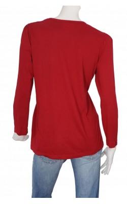 Bluza casual KappAhl, bumbac si modal, marime XL