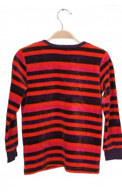 Bluza catifea Polarn O.Pyret, 6-8 ani