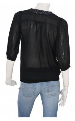 Bluza chiffon cu funda Floyd by Smith, marime S