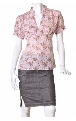 Bluza chiffon lila Vero Moda, marime XL