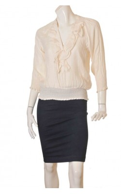 Bluza crepe satinat Zara, marime S