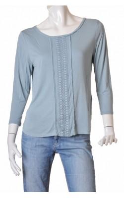 Bluza cu dantela aplicata H&M, marime L