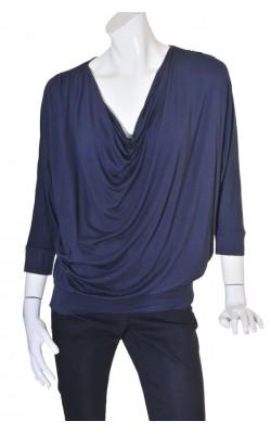 Bluza cu guler drapat B. Young, marime L