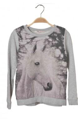Bluza cu imprimeu H&M, 8-9 ani