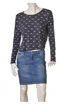Bluza cu imprimeu H&M, marime M