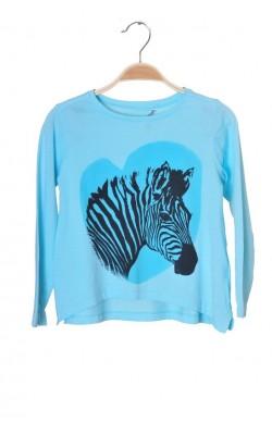 Bluza cu imprimeu zebra Lindex, 7-8 ani