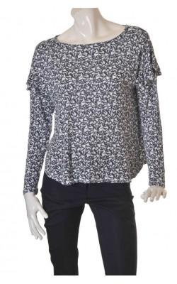 Bluza dama marime 44/46, H&M, maneci cu volane