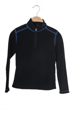 Bluza fleece negru Twentyfour Norway, 8 ani