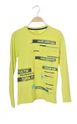 Bluza galbena cu imprimeu Oviesse, 10-11 ani