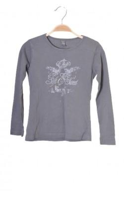 Bluza gri cu imprimeu Zara, 7-8 ani