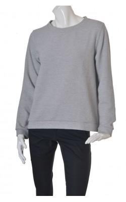 Bluza gri jerseu texturat Cubus, marime XL