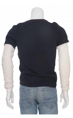 Bluza bleumarin cu alb Guess, marime S