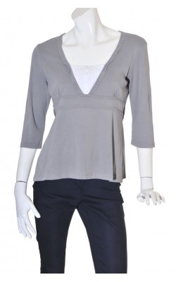 Bluza guler in V Collection by Kappahl, marime 44/46