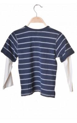 Bluza H&M L.o.g.g., bumbac, 6 ani