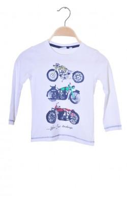Bluza imprimeu motociclete Blu Kids, 3-4 ani