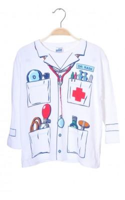 Bluza imprimeu uniforma medicala, 7-8 ani