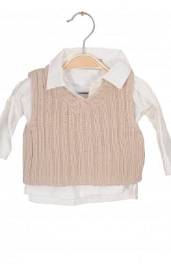 Bluza jerse IKKS, 3 luni