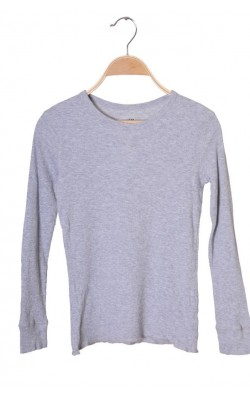 Bluza jerse reiat H&M, bumbac organic, 8-10 ani