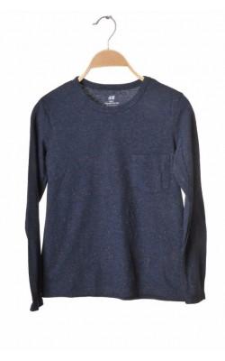 Bluza jerseu bumbac organic H&M, 8-10 ani