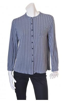 Bluza jerseu cu imprimeu Be More, marime XL
