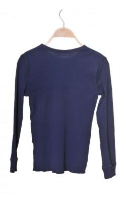 Bluza jerseu reiat H&M, bumbac organic, 11-12 ani