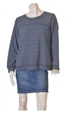 Bluza jeseu texturat H&M, fermoar spate, marime XL