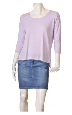 Bluza lila supradimensionata B.Young, marime S