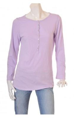 Bluza lila Va Vite, maneci lungime ajustabila, marime L