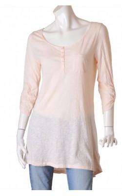 Bluza lunga jerseu bumbac H&M, marime M